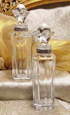 Vintage Crystal Rhinestone Perfume Bottles by TheEclecticDiva