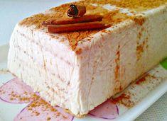 Tarta de galletas de canela y queso