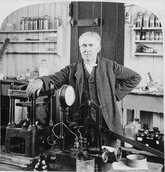 A genialidade de Thomas Alva Edison