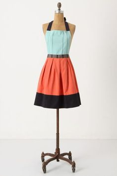 """Cuisine Couture Apron - anthropologie $32 Cotton  Machine wash  34""""L, 30""""W  32"""" ties     Imported       Style No. 21238993"""