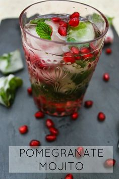 the best pomegranate mojito!!