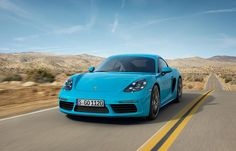 2017 Porsche 718 Cayman Revealed in all its Turbocharged Glory » AutoGuide.com News