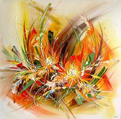 Home Decoration Design Ideas Simple Oil Painting, Oil Painting Flowers, Oil Painting Abstract, Abstract Flowers, Abstract Art, Oil Painting Supplies, Flower Oil, Alcohol Ink Art, Arte Pop