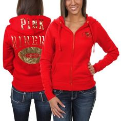 Victoria's Secret PINK San Francisco 49ers Ladies Bling Full Zip Hoodie