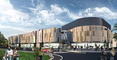 Marcredo shopping center is located in the strict city center of Głogów.  Complementary to its main commercial and business function there will be an enterta...