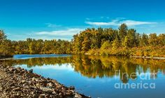 Fall Along the Payette River:  See more images at http://robert-bales.artistwebsites.com/
