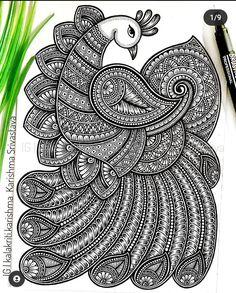 Mandala Art Therapy, Mandala Art Lesson, Mandala Artwork, Mandala Painting, Easy Mandala Drawing, Mandala Sketch, Doodle Art Drawing, Art Papillon, Doodle Art Letters