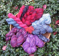 Final yarn spun for 2015 Spinzilla