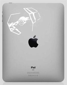 Tie Fighter Star Wars Darth Vader Sticker Decal Vinyl for iPad and iPad 2   eBay $4.05us