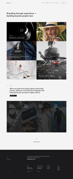 Basic agency website design 2.2