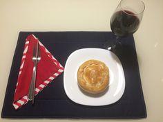 Tortinha de Palmito MenuManu com jogo para mesa Celegrati! Contato@menudamanu.com / celegrati@gmail.com