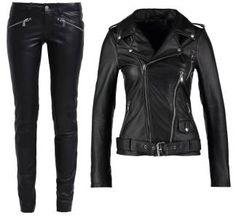 Gipsy Zipa Ledo Pantalonoi Black pantalones Zipa Pantalonoi Ledo Gipsy black Noe.Moda