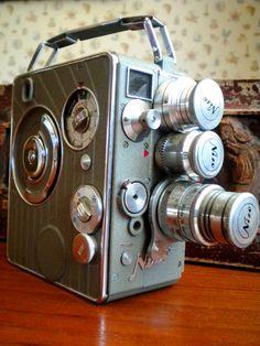 Nizo Heliomatic 8mm Movie Camera from 1950's by SawdustGideon, $75.00