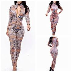 Reaqka Fashion Hollow Out Bodysuits Women Jumpsuit Sexy Bandage Backless Club Wear Party Romper Playsuit Woman Overalls 2018 Bright And Translucent In Appearance Women's Clothing