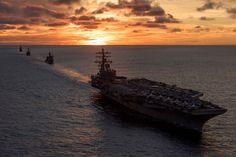 The Aircraft Encyclopedia, retrowar: U.S. Navy ships assigned to Carrier...