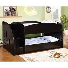 Hokku Designs Jamie Twin Bunk Bed with Storage | Wayfair