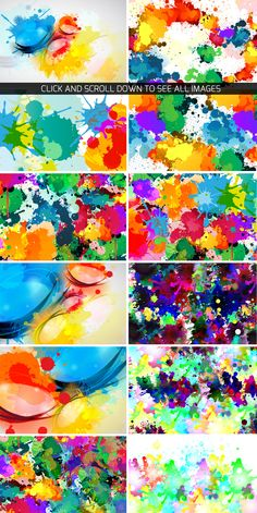 Color Splash Objects and Backgrounds  https://creativemarket.com/vito12/93182-Color-Splash-Objects-and-Backgrounds  #background #Abstract #texture
