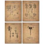 Icarus/Human Flight Flying Machine - 11x14 Unframed Patent Print - Great Gift for Pilots | The Patent Art