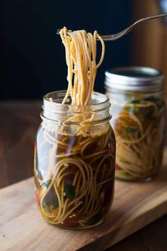 A recipe for DIY healthy homemade instant noodles, made with real vegetables and whole-wheat pasta. Sesame ginger flavored!
