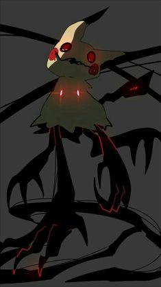 Mimikyu, scary; Pokémon