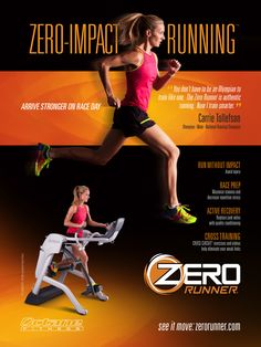 In case you missed it in the December issue of @runnersworld magazine, take a look at our Zero Runner ad featuring Olympic runner @ctollerun! #FueledByZero