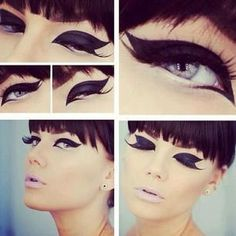 Be a va-va-vixen with dramatic eyes. Nothing Stila's liquid eyeliner ($20.00) can't accomplish. Get it at crcmakeup.com