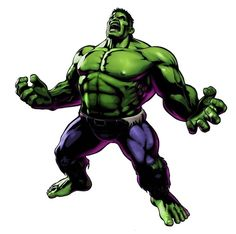 I like the hulk because he had that aspect of magic about him because he does something not Everuone can do! His green skin is also eye catching