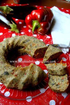 La cossa dulce: Pastel de berenjenas y pimientos rojos