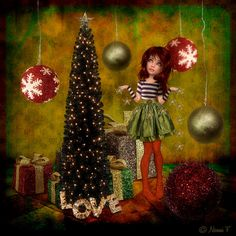 ©Nonni F Created with Xquizart's Deconstructed Art-Chrissie http://www.mischiefcircus.com/shop/product.php?productid=24168&cat=249&page=1 #atc #digital #scrap #journal #christmas #mischief #art #scrapping #artdolls #holiday #journaling