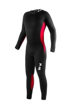 Our Pure Full high-performance wetsuit is the optimal all-round long sleeve wetsuit for swimming, surfing, snorkeling, diving and any other water based activity and suitable for beginners and pros alike. It is 3mm thick, made of 80% neoprene and 20% nylon and has a back zipper with leash. Our...