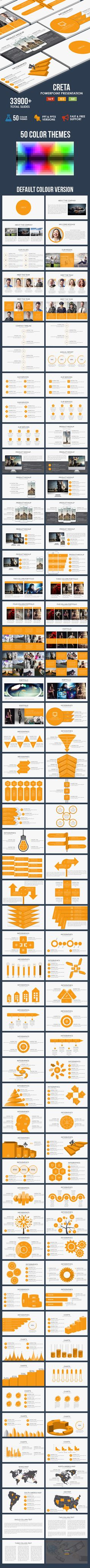 Creta - Powerpoint Presentation Template - #Business #PowerPoint #Templates Download here: https://graphicriver.net/item/creta-powerpoint-presentation-template/15913321?ref=alena994