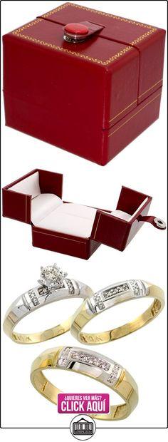 Revoni - Alianza de oro amarillo  ✿ Joyas para hombres especiales - lujo ✿ ▬► Ver oferta: http://comprar.io/goto/B003R1KEJQ
