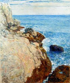 The East Headland, Appledore - Isles of Shoals - Childe Hassam