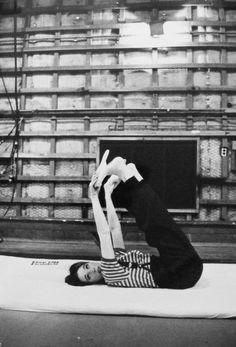 Knock it off Julie, or I'll take back the Oscar!, vintagebreeze:   A young Julie Andrews.