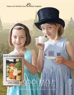 "Oxford - As featured in ""My Very Own World Adventure"" personalized children's book by I See Me!"