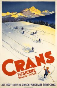 Crans-sur-Sierre, Valais Suisse