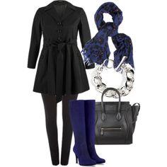 Black & Blue - Plus Size #plus #size