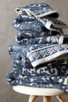 Anthropologie Philippa Towel Collection #anthroregistry