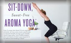 Young Living Blog | Sit-Down, Sweat-Free Aroma Yoga®