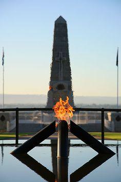 Jan 1 - Eternal Flame and State War Memorial Kings Park Perth