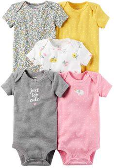 Baby Onesies Banana Art Fruit Plants 100/% Cotton Bodysuits Cute Short Sleeve Bodysuit
