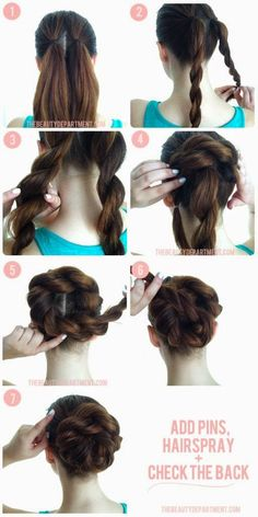 Rope braids - I can do those! Pretty pretty pretty I think I did this, I think it worked I don't chronicle my hair dos Pretty Hairstyles, Easy Hairstyles, Wedding Hairstyles, African Hairstyles, Latest Hairstyles, Church Hairstyles, Ballet Hairstyles, Amazing Hairstyles, Blonde Hairstyles