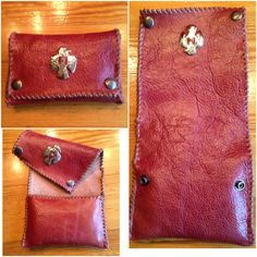 #tabaccopouch made by #irisrules #leatherworks #leathercraft