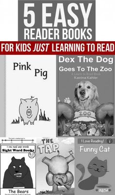 Easy reader books for kids JUST beginning to read for the Kindle #sponsored