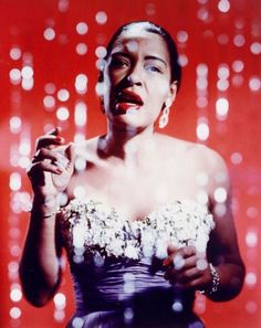 How do we remember Billie Holiday? As a singer? Holiday, whose birthday is April is almost never thought of strictly as a musician — her personal life was too… Billie Holiday, Lady Sings The Blues, Ella Fitzgerald, Blues Rock, Martin Luther King, Vaughan, Divas, Afro, Vintage Black Glamour