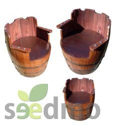 #Muebles y #decoración Butaca de barrica compra Online.