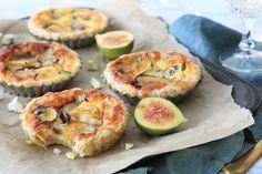Hartige vijgentaartjes met blauwe kaas – 5 OR LESS