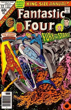 Fantastic Four Annual #12 - End of the Fantastic Four...and the Inhumans (Issue)