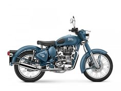 #RoyalEnfield #Classic500 in Squadron Blue launched at INR 1.93L –