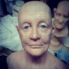 Genius creation using Super Sculpey by Tim Peirson.